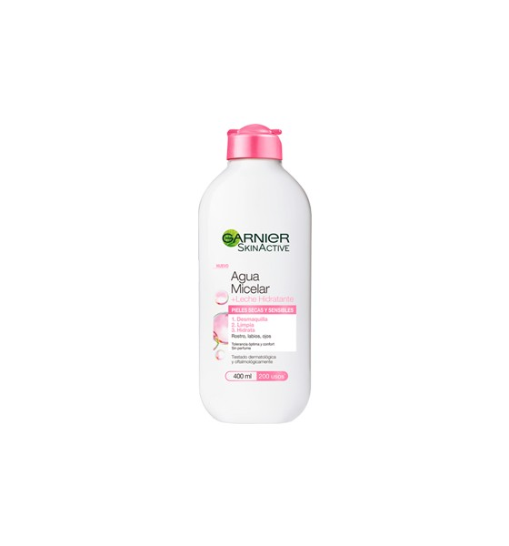 Garnier Skinactive Agua Micelar Milk Hydratente 400Ml