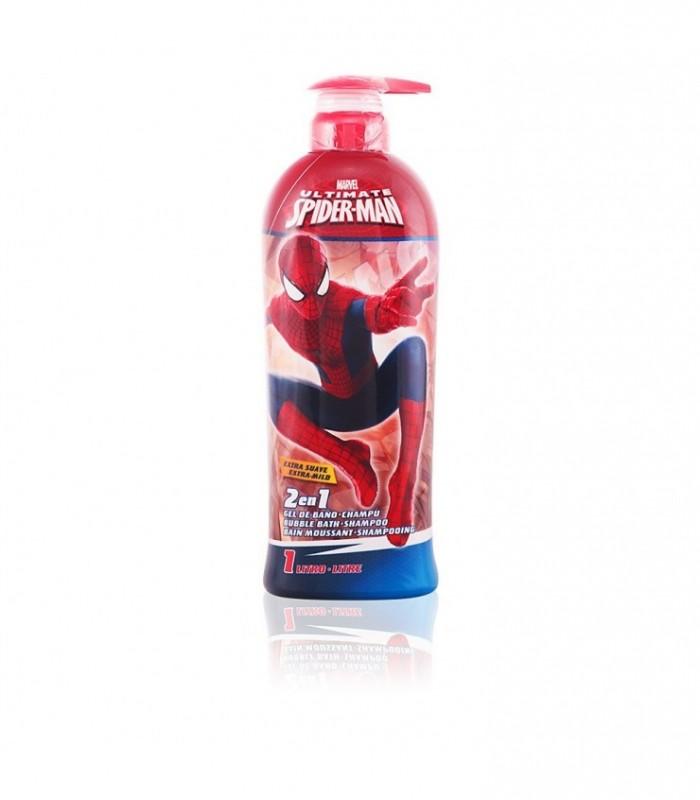 Marvel Spiderman 2 In 1 Shower Gel & Schampo 1000Ml
