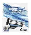 Gillette Mach3 Start Refill 4 Units