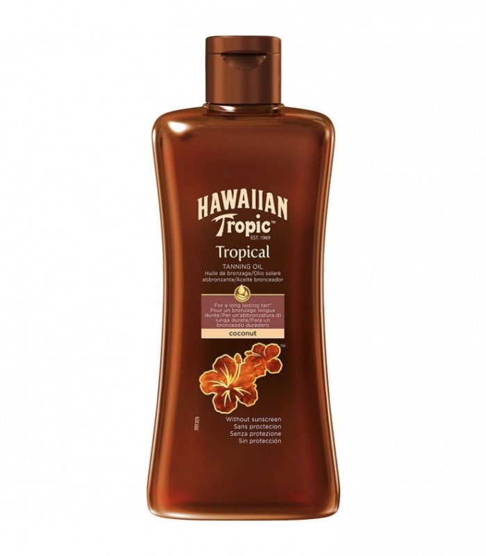 Hawaiian Tropic Tropical Tanning Oil 200Ml