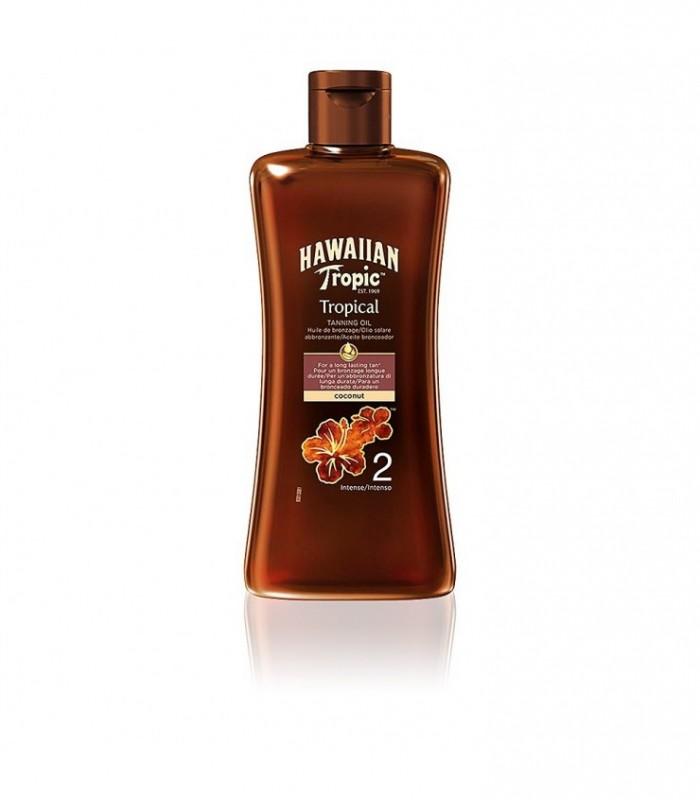 Hawaiian Tropic Tropical Tanning Oil Intense 200Ml