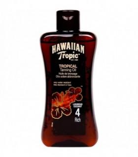 Hawaiian Tropic Tropical Tanning Oil Rich 200Ml