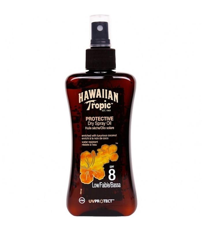 Hawaiian Tropic Protective Dry Oil Spf8 Low 200Ml