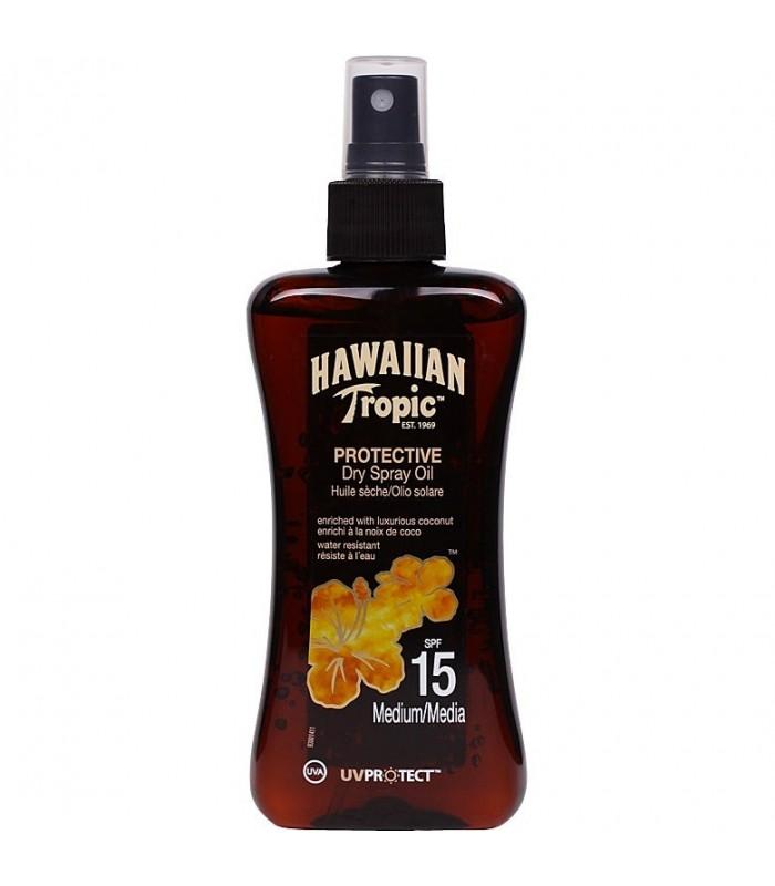 Hawaiian Tropic Protective Dry Oil Spf15 Medium 200Ml