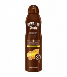 Hawaiian Tropic Protective Dry Oil Continous Spf30 180Ml