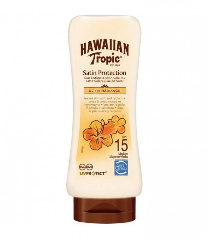 Hawaiian Tropic Satin Protection Ultra Radaynce Sun Lotion