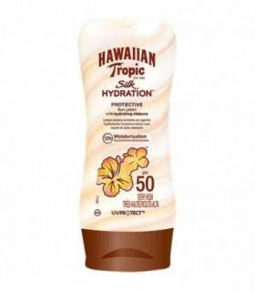 Hawaiian Tropic Silk Sun Lotion Spf50 180 Ml