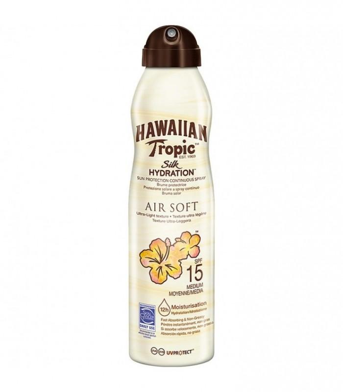 Hawaiian Tropic Silk Hydration Air Soft Spf15 Brume Protective
