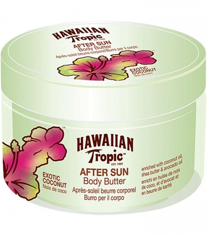 Hawaiian Tropic After Sun Body Butter Exotic Coconut 200Ml