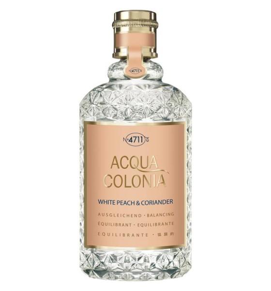 4711 Acqua Colonia White Peach & Coriander Eau De Cologne Spray 170Ml