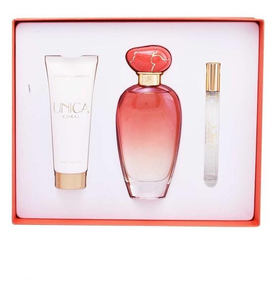 Adolfo Dominguez Unica Coral Eau De Toilette 100Ml + Perfumed
